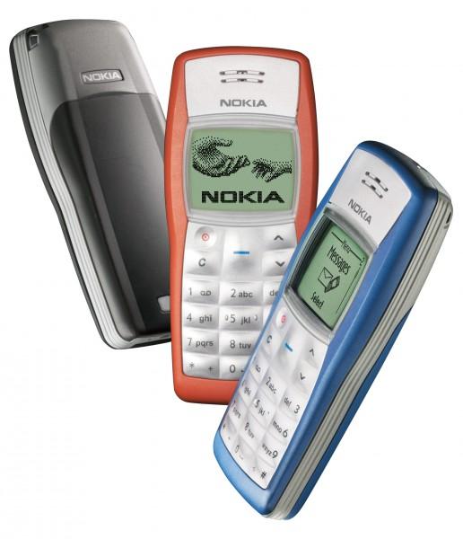 Nokia 1100 - maailman myydyin puhelin