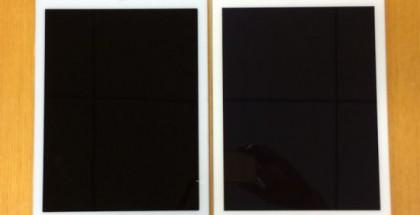 Vasemmalla huhuttu iPad Air 2 ja oikealla iPad Air