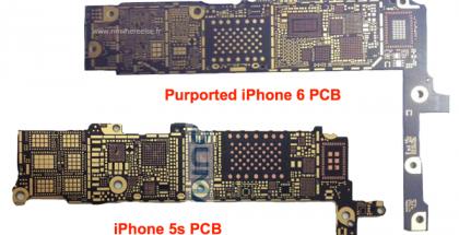 Vuotokuvassa väitetty iPhone 6:n emolevy
