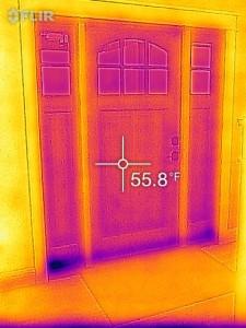 Filr One -lämpökameran kuvaa