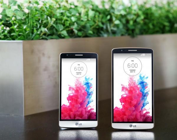 Vasemmalla LG G3 Beat, oikealla LG G3
