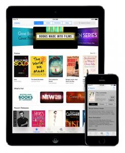 Apple iBooks iPadillä ja iPhonella