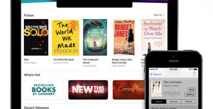Apple iBooks aiemmin iPadilla ja iPhonella