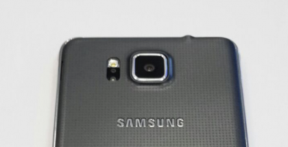 Samsung Galaxy Alphan takakansi
