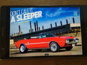 Galaxy Tab S 8.4:n Super AMOLED-näyttö ja rikas väritoisto