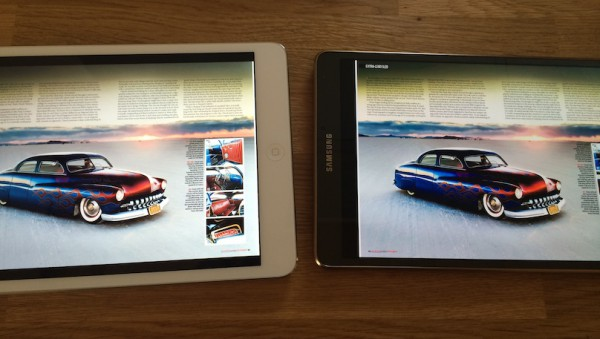 iPad mini Retina vs. Galaxy Tab S 8.4