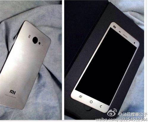 Oletettu Xiaomi Mi4 vuotokuvissa
