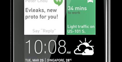Jäljennös HTC:n oletetusta, tulevasta Android Wear -kellosta