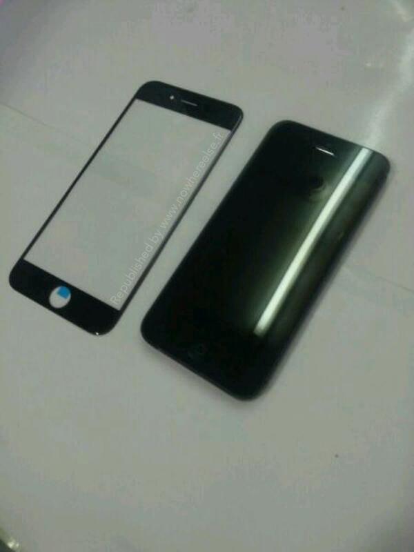 Väitetty 4,7 tuuman iPhone 6:n etupaneeli