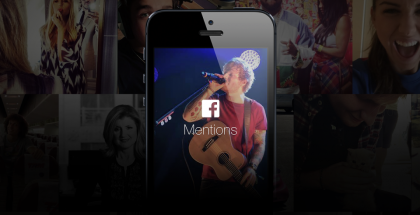 Facebookin Mentions-sovellus