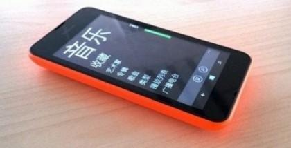 Väitetty kuva Lumia 530:sta