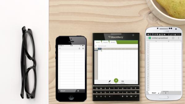 BlackBerry Passport mahdollistaa esimerkiksi laajemman dokumenttinäkymän