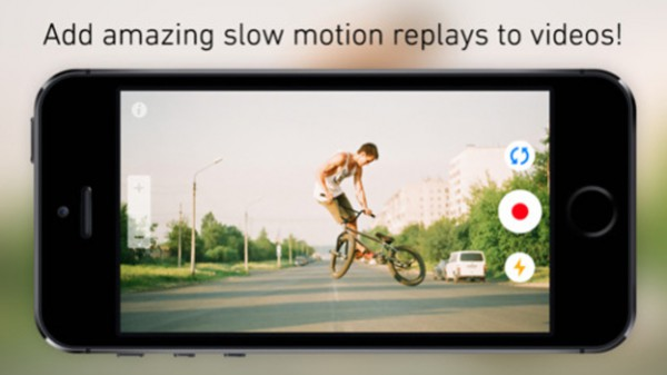 ReplayCam iPhonelle ja iPadille
