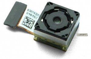 iPhone 6:een ounasteltu Sony Exmor IMX220 -kenno
