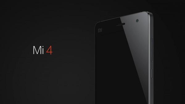 Xiaomi Mi4 edestä