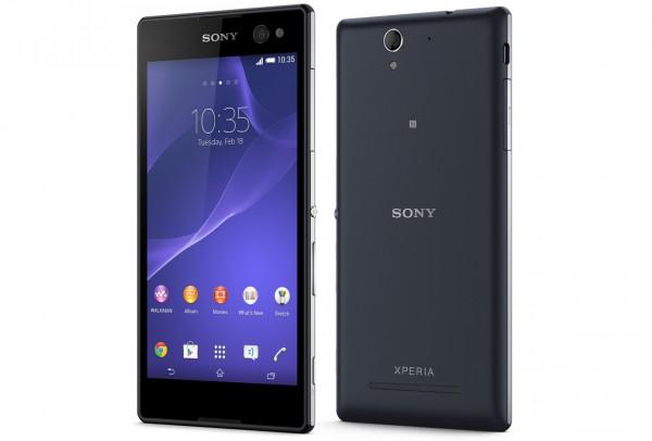 Sony Xperia C3 mustana