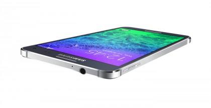 Samsung Galaxy Alpha mustana