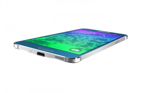 Samsung Galaxy Alpha sinisenä