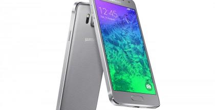 Samsung Galaxy Alpha hopeisena