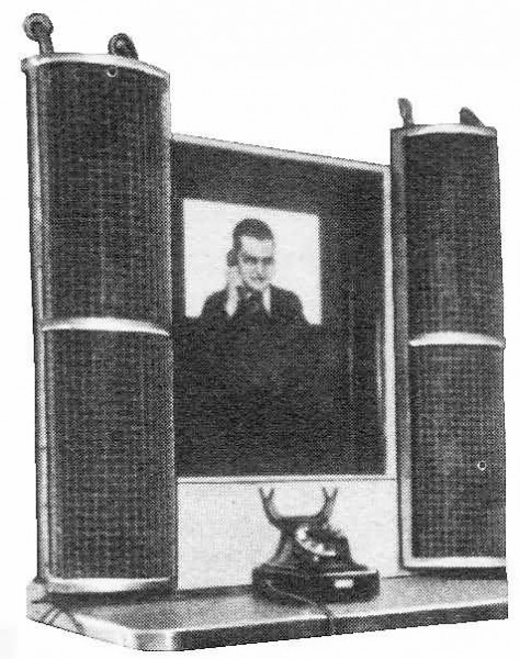 Saksalainen videopuhelujärjestelmä vuodelta 1936