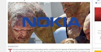 Kuvakaappaus Business Korean verkkosivuilta - Jo kuvasta huomaa, kuinka provosoiva itse kirjoitus tulee olemaan