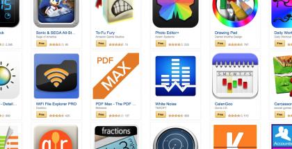 !00 dollarilla ilmaisia Android-sovelluksia Amazonilta