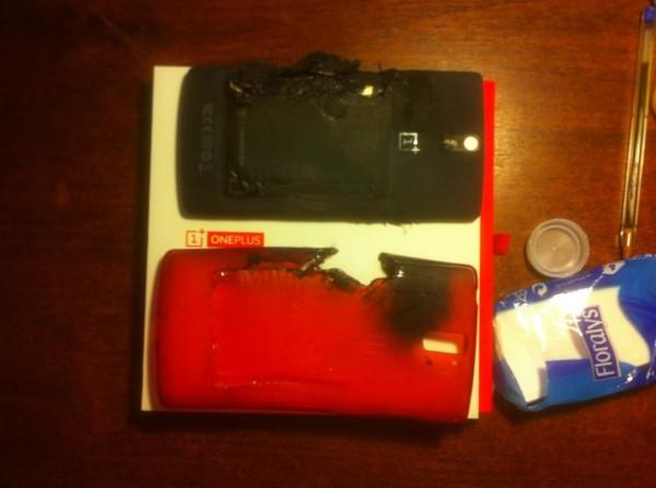 Räjähtänyt OnePlus One