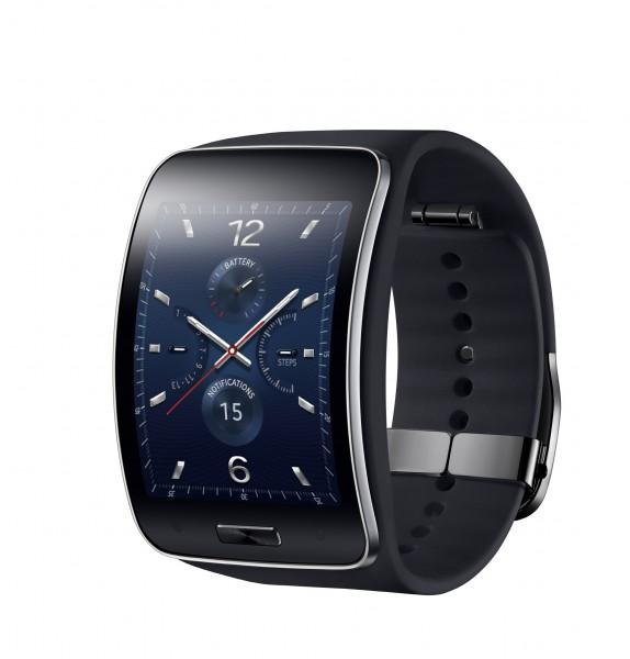 Samsung Gear S mustana
