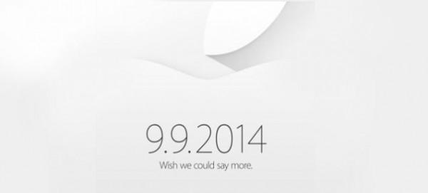 Applen kutsu mediatilaisuuteen 9.9.2014