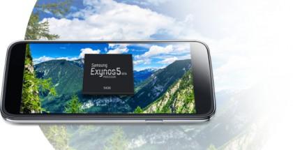 Galaxy Alpha on ensimmäinen puhelin, jossa käytetään Samsungin uutta Exynos 5430 -piiriä