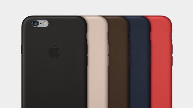 Applen nahkaiset suojakuoret iPhone 6:lle tulevat saataville viidessä eri värissä