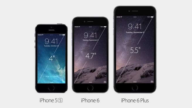 iOS 5S, 6 ja 6 Plus