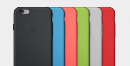 iPhone 6:lle tulee kuusi eriväristä silikonisuojakuorta