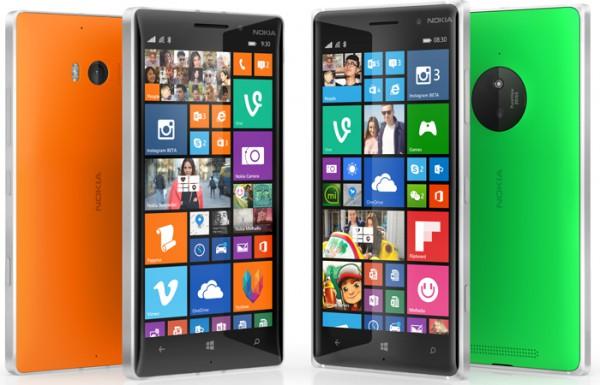 Nokia Lumia 830 ja 930