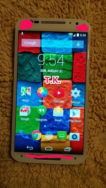 Motorola Moto X+1 ja mystiset etupaneelin sensorit