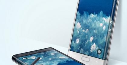 Samsung Galaxy Note Edgessä näyttö kaareutuu toiselta reunaltaan. SamMobilen mukaan Galaxy S6:sta on tulossa erikoisversio, jossa näytön molemmat reunat kaareutuvat.