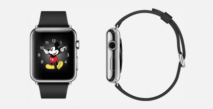 Mikki Hiiri löytyy Apple Watchin kellotauluista, mutta sovelluskehittäjät eivät saa tehdä omia kellotauluja.