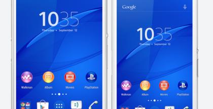 Sony Xperia Z3 ja Xperia Z3 Compact