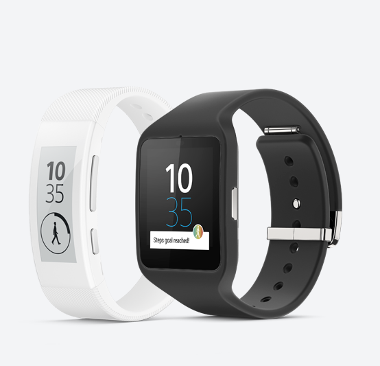 Sony SmartBand Talk ja SmartWatch 3