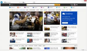 Uusittu MSN-sivusto