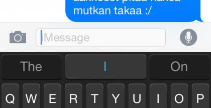 SwiftKey iOS:lle ei toimi vielä suomeksi
