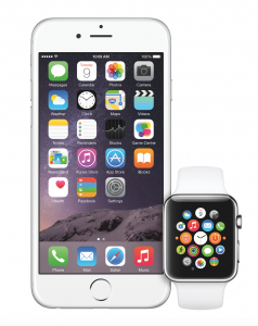 iPhone 6 ja Apple Watch
