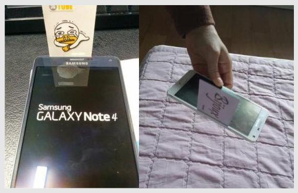 Ensimmäisiä myytyjä Galaxy Note 4 -malleja vaivaa iso rako etupaneelin ja sen kehyksen välissä