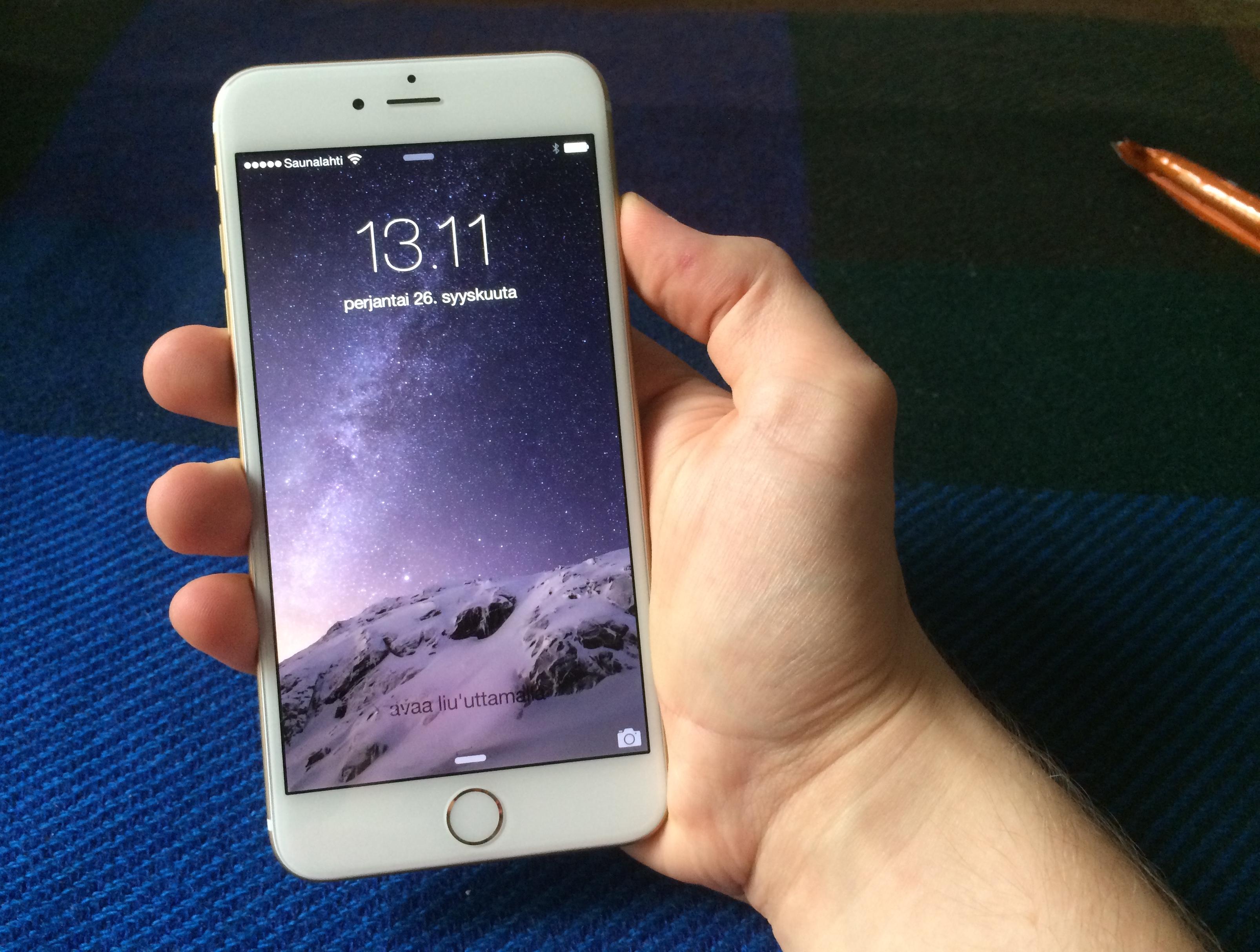 Iphone keskustelu