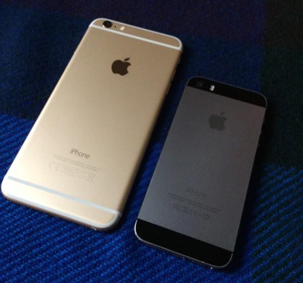 iPhone 6 Plus on iPhone 5s:ää selvästi liukkaampi, mitä vielä koko korostaa