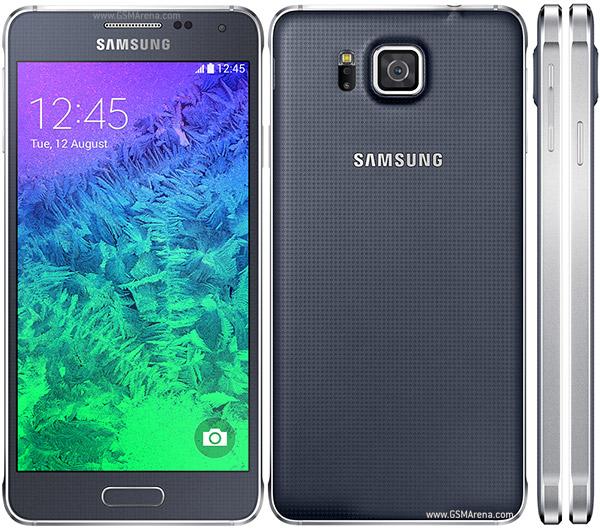 Samsungin lehdistökuvat Galaxy Alphasta