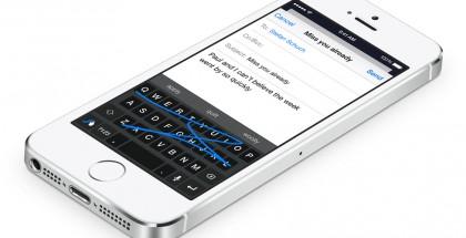 iOS:ssä on voinut käyttää kolmannen osapuolen näppäimistöjä iOS 8:sta alkaen.