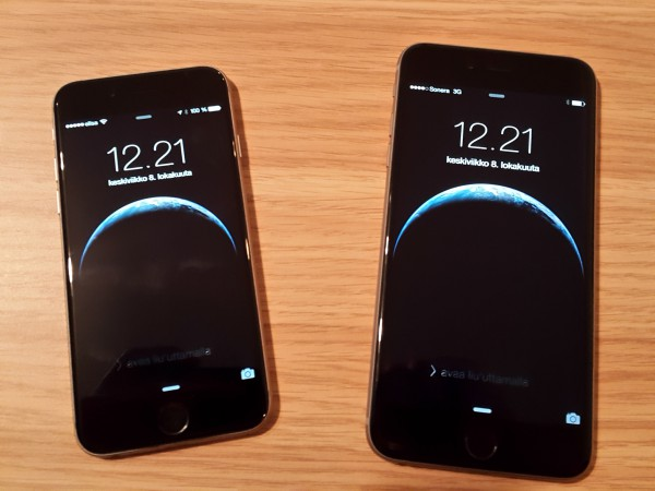 Iso ja vielä isompi - iPhone 6 ja iPhone 6 Plus