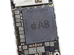 iPhone 6 - ja 6 Plus -malleissa käytettävä A8-piiri