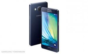 Galaxy A5 Midnight Black -värissä